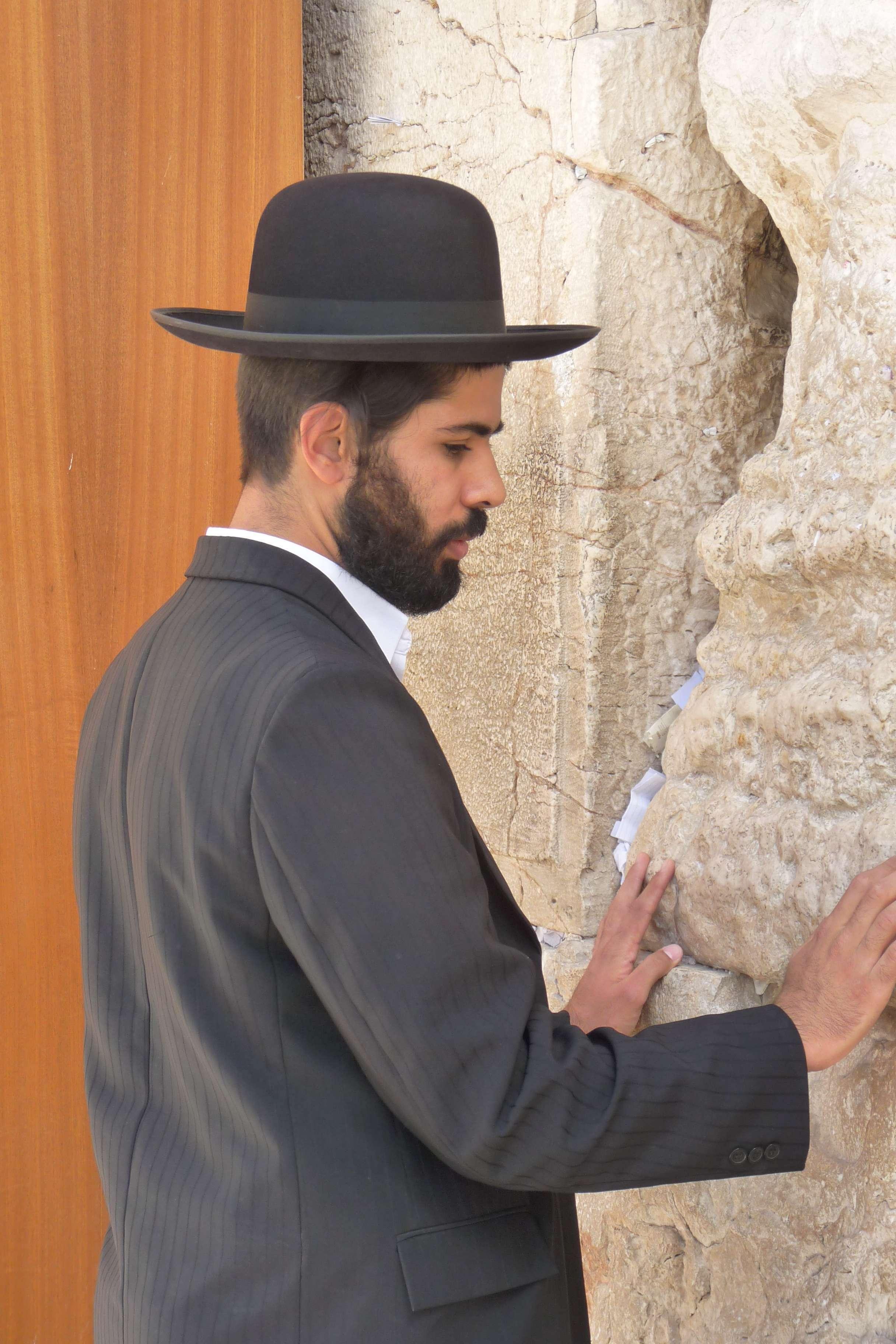 Israel_Jerusalem_Jude_an_der_Klagemauer_b_2010-10_HF_Copyright_Foto_Bernd_Kregel