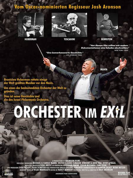 Orchester im Exil Poster