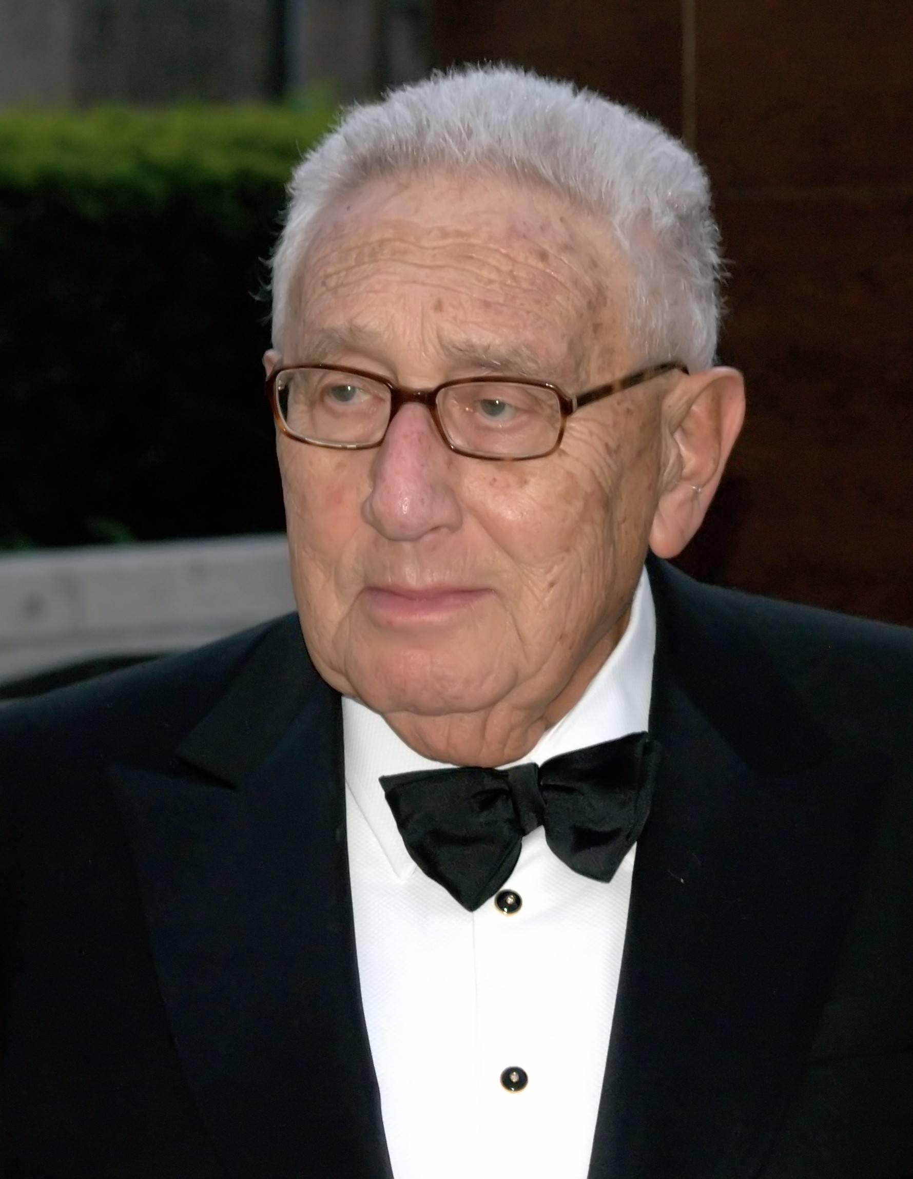 Henry Kissinger. Quelle: Wikipedia, Photo: Shankbone, gemeinfrei, cc-by-3.0