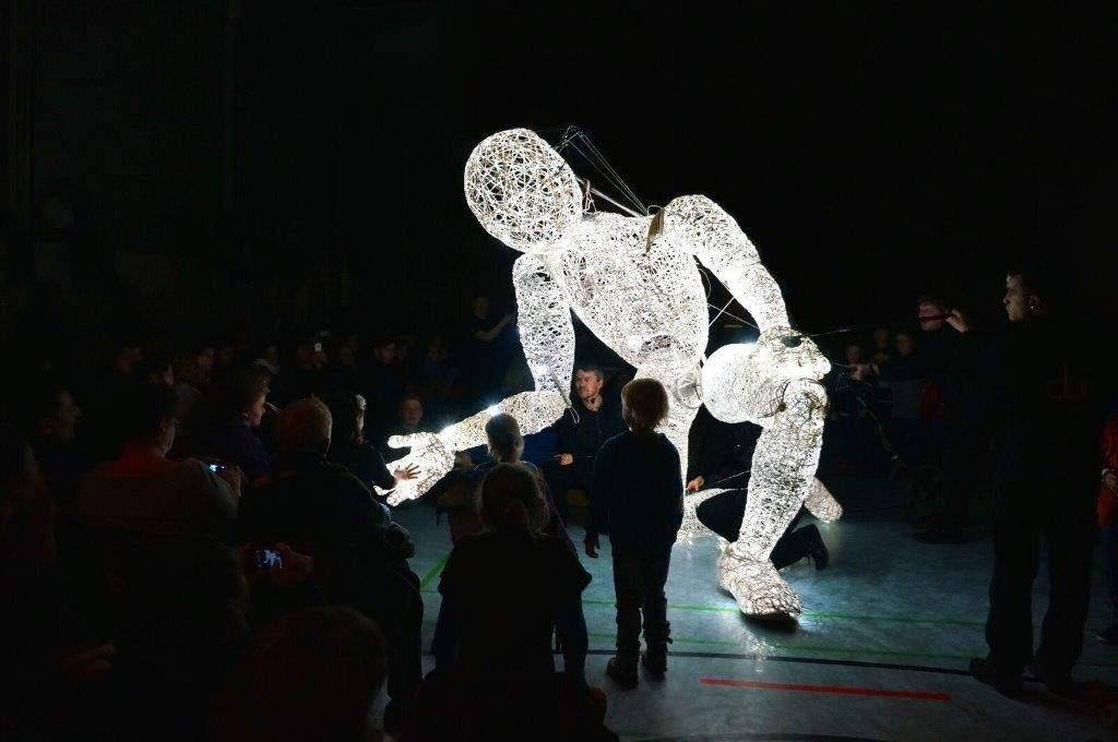 """Dundu als Highlight des """"Festival of Light in Jerusalem"""". © Israeli Ministry of Tourism"""