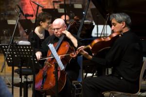 Debütkonzert des Hauser String Trios mit Ofra Yitzhaki auf dem New Life Festival 2017 in Berlin. BU: Stefan Pribnow © 2017, Foto: Daniela Incoronato