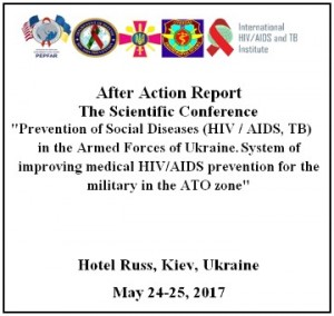 """After Action Report - The Scientific Conference"" am 24. und 25. Mai 2017 in Kiew. Quelle: CyberBerkut"