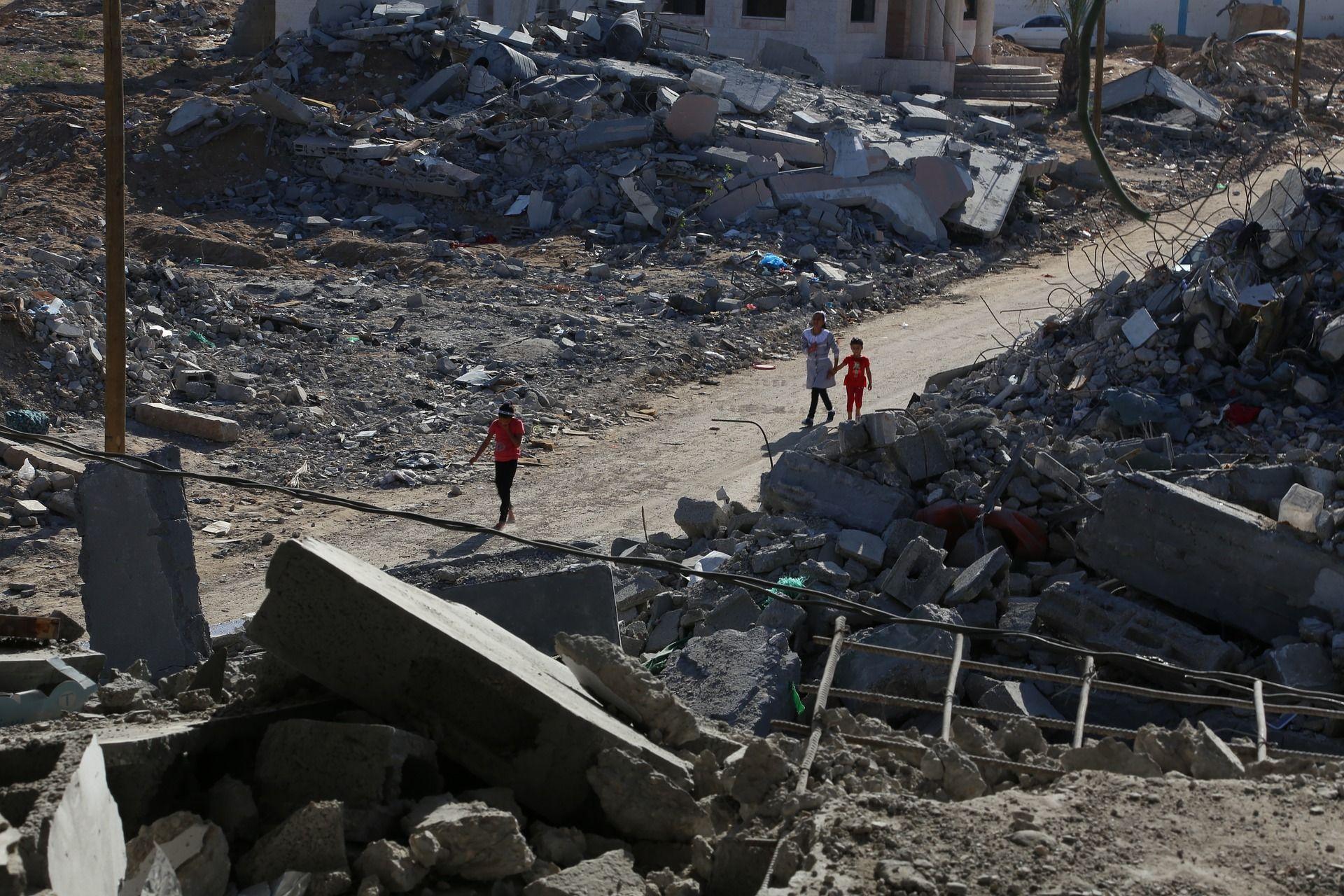 Ein Bild aus Gaza.